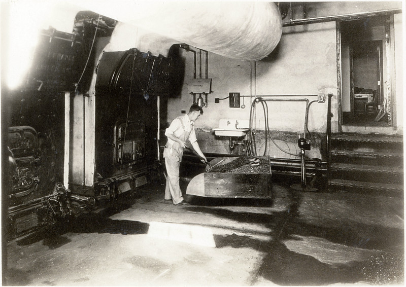 Boiler Room in King Ferry School. (Photo ID: 30468)
