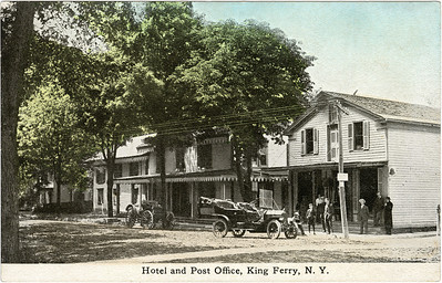 Hotel and Post Office, King Ferry, NY. (Photo ID: 28125)