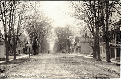 Intersection looking West, Main Street, King Ferry, NY. (Photo ID: 28029)