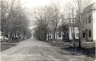Main Street, King Ferry, looking East. (Photo ID: 28046)