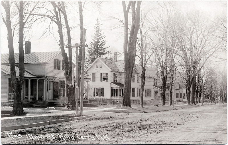 Main Street, King Ferry, West of the intersection, South side of the road looking South West. (Photo ID: 28972)