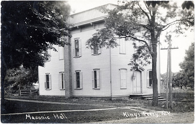 Masonic Hall, Main Street, King Ferry, NY. Current resident is Rich Harrison. (Photo ID: 28031)