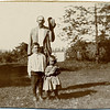 Edwin S. Fessenden, Samuel D  Fessenden and Dorothy Fessenden, circa 1907 (Photo ID: 29007)