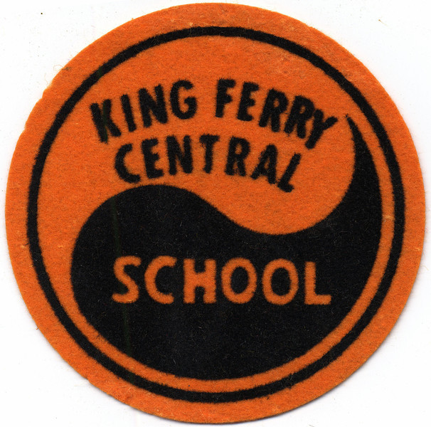 King Ferry School felt patch. (Photo ID: 29350)