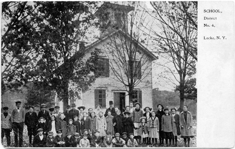 School District No. 4, Locke, NY. (Photo ID: 28018)