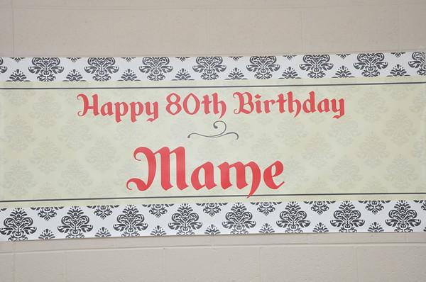 Mame 80th Birthday Celebration