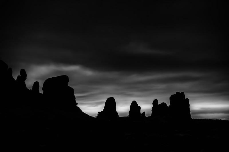 Arches Silhouette
