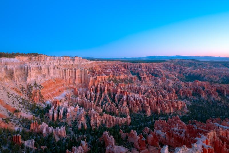Bryce Canyon Before Dawn