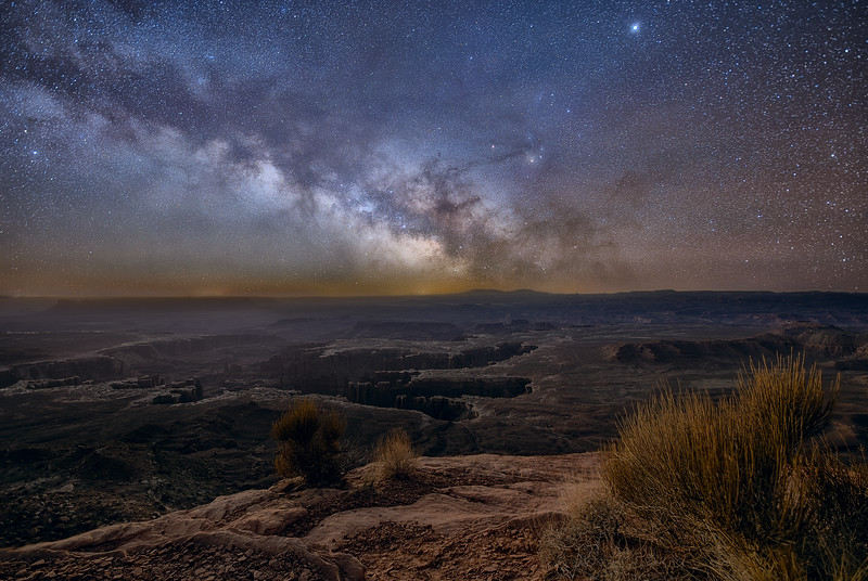 Canyonlands and the Milky Way