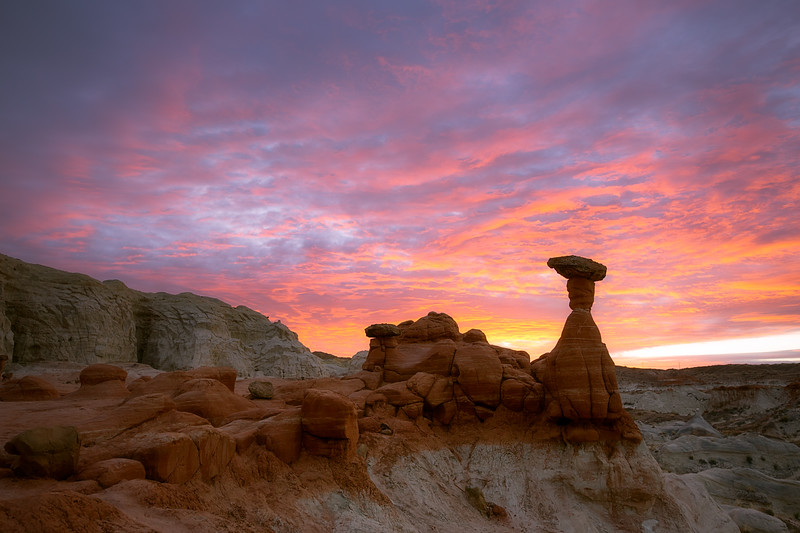 Toadstool Hoodoo Sunrise 24mm