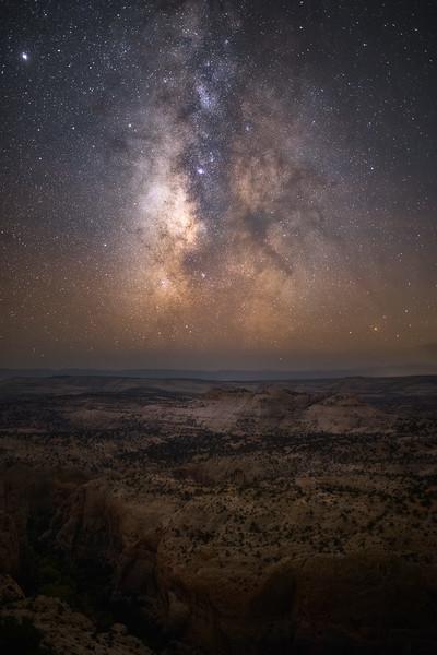 Milky Way over Escalante