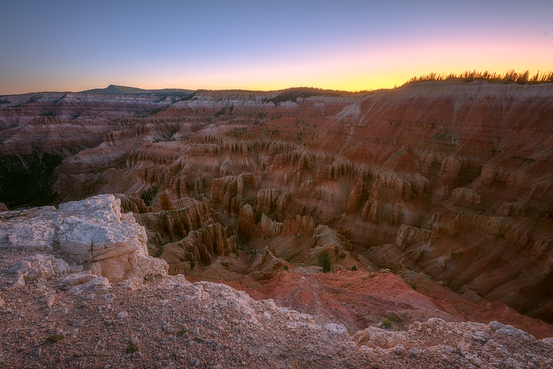 Cedar Breaks and Bryan Head at Sunrise