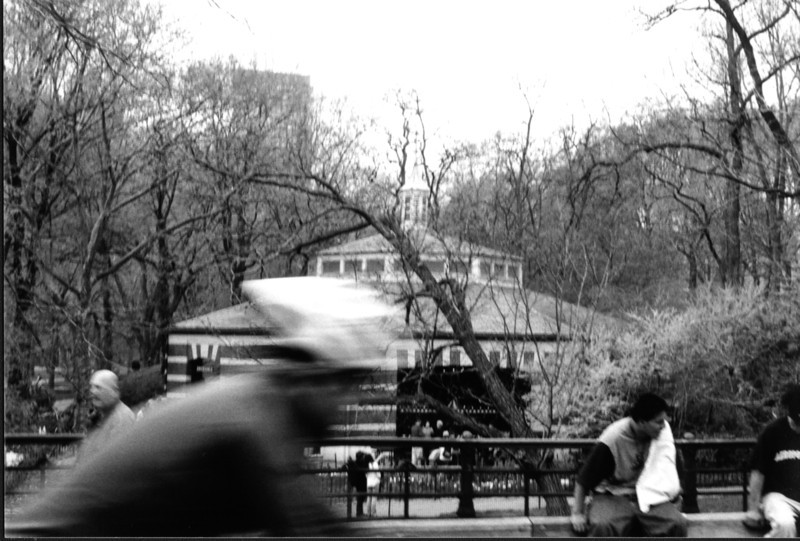 Racing through Central Park