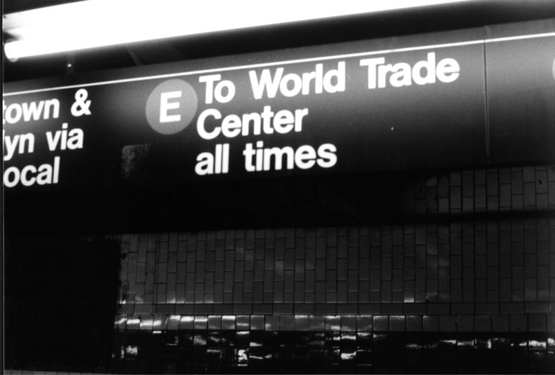 On the way to WTC Station