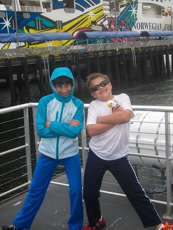 Alaska Cruise: Waiting to get back on