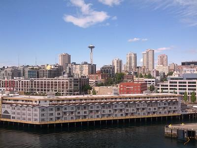 Alaska Cruise: First hours on Norwegian Jewel