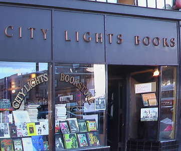 City Lights - the famous beat poet hangout and bookstore.