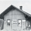 After the Short Line was abandoned, the depot at Merrifield (Scipio) served as general store and town clerk's office. Torn down in 1938. (Photo ID: 38280 c)