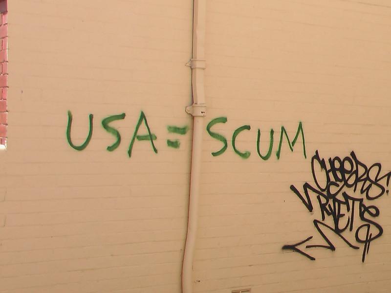 Bush Administration Graffiti