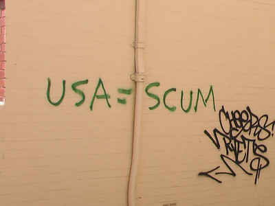 Bush Administration Graffiti