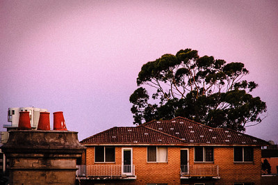 Old Sydney Rooftops