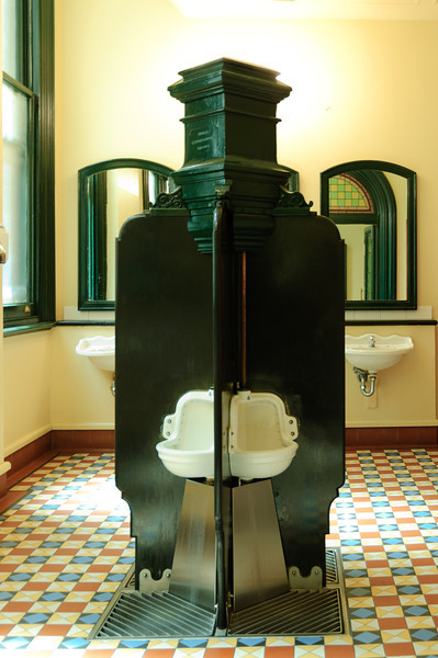Unusual QVB Toilets
