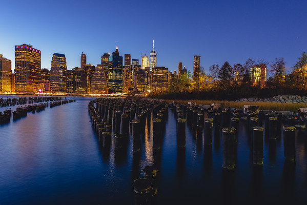 Blue Hour in NYC