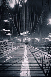Running on the Brooklyn Bridge
