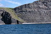 """Cruise #36.  Hundreds of millions of years old sediments.<br /> <br /> Some of my reading about the geology of the Cliffs of Moher describes the geologic period or episode during which the shales, etc., were deposited as 'carboniferous' and 'Namurian'.  The Namurian seems to be a formation belonging to the Upper Carboniferous period, and dates to 320 million years ago.  For a link that talks about the Namurian shale deposits in County Clare, see:<br />  <a href=""""http://sepmstrata.org/Deepwater/Clare-Shales.html"""">http://sepmstrata.org/Deepwater/Clare-Shales.html</a><br /> <br /> Cliffs of Moher, County Clare, Ireland."""