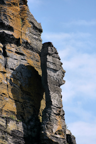 Feature along the Cliffs of Moher, County Clare, Ireland
