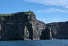 Cliffs of Moher seen from the sea