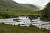 River valley for the River Erriff, including Aasleagh Waterfall.<br /> <br /> County Mayo, Ireland.