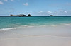 Just landed, with my first taste of the heavenly sights to come.  (My guess at our landing site is mapped.)<br /> <br /> 2:12 pm, GDST<br /> Gardner Bay, Isla Espanola,<br /> Galapagos Islands.
