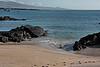 A view far down the shore of Isla San Cristobal.<br /> <br /> <br /> Galapagos Islands, Ecuador.<br /> Isla San Cristobal.<br /> OSN b006