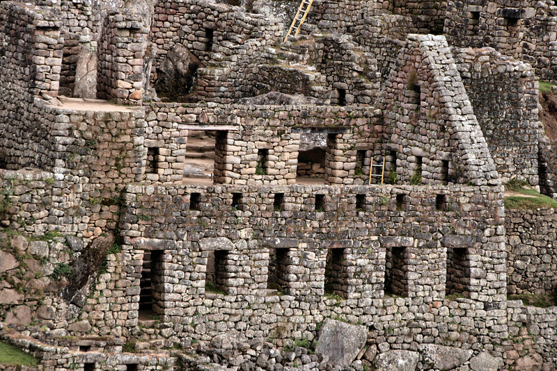 Machu Picchu structures - no rectangles!