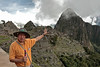 Machu Picchu #18<br /> <br /> Our wonderful guide, Edwin Torres.  His facial features bespeak significant Inca blood in his ethnic heritage.