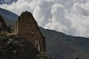 It was uncommon for the Incas to built two story structures.  This is one such.<br /> <br /> Ollantaytambo Archaeological Park,<br /> Sacred Valley, Peru.<br /> 2009