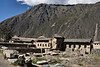 Part of the urban sector of Inca and pre-Inca Ollantaytambo.<br /> <br /> Ollantaytambo Archaeological Park,<br /> Sacred Valley, Peru.<br /> 2009