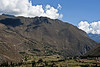 A landscape of great charm, even without its historical associations.<br /> <br /> The valley of the Rio Urubamba, downstream from Ollantaytambo.