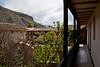 Outside corridor that ran past my room.<br /> <br /> Sonesta Posada del Inca, Yucay, Peru<br /> 2009