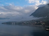 Views from the ship while at Kotor: The Bay and surrounding mountains.