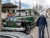 Omodos ('Ομοδος) village - Bedford bus