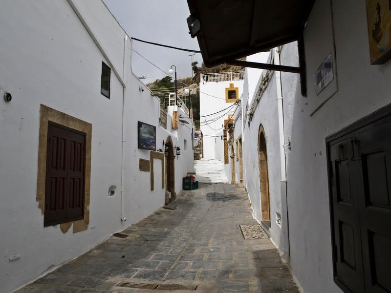 Mediterranean #11 - Lindos, Rhodes, Greece - arctangent