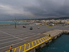 Rain threatening our day trips in Crete.<br /> Dockside at Rethymnon.
