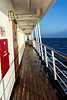 MS G03 05r Starboard side deck, looking toward the bow