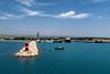 Entering the harbor at Taşucu, Turkey