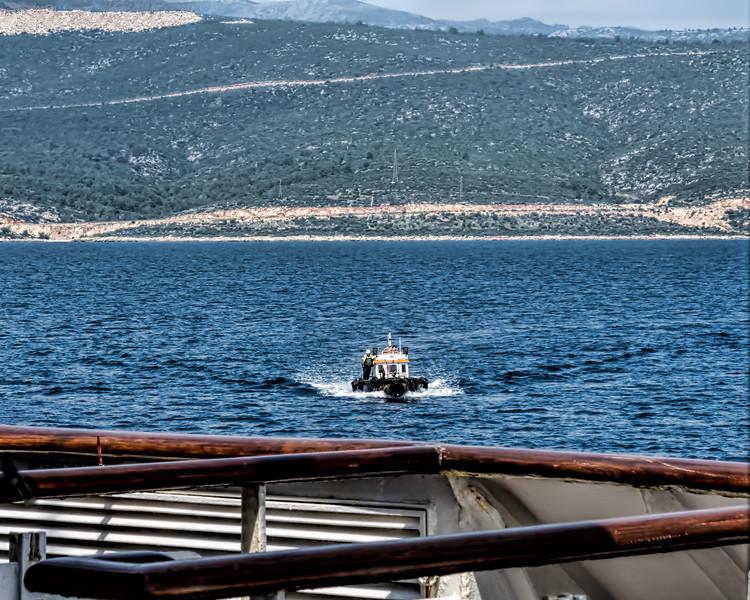 Scenes in and near the main harbor, Taşucu, Turkey