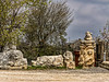 Survivors - Roman era artifacts line the road