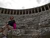 Roman theater, Aspendos, Turkey.  April, 2011