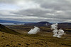 Steam vents south of Þingvallavatn <br /> <br /> Þingvellir National Park,<br /> SW Iceland.